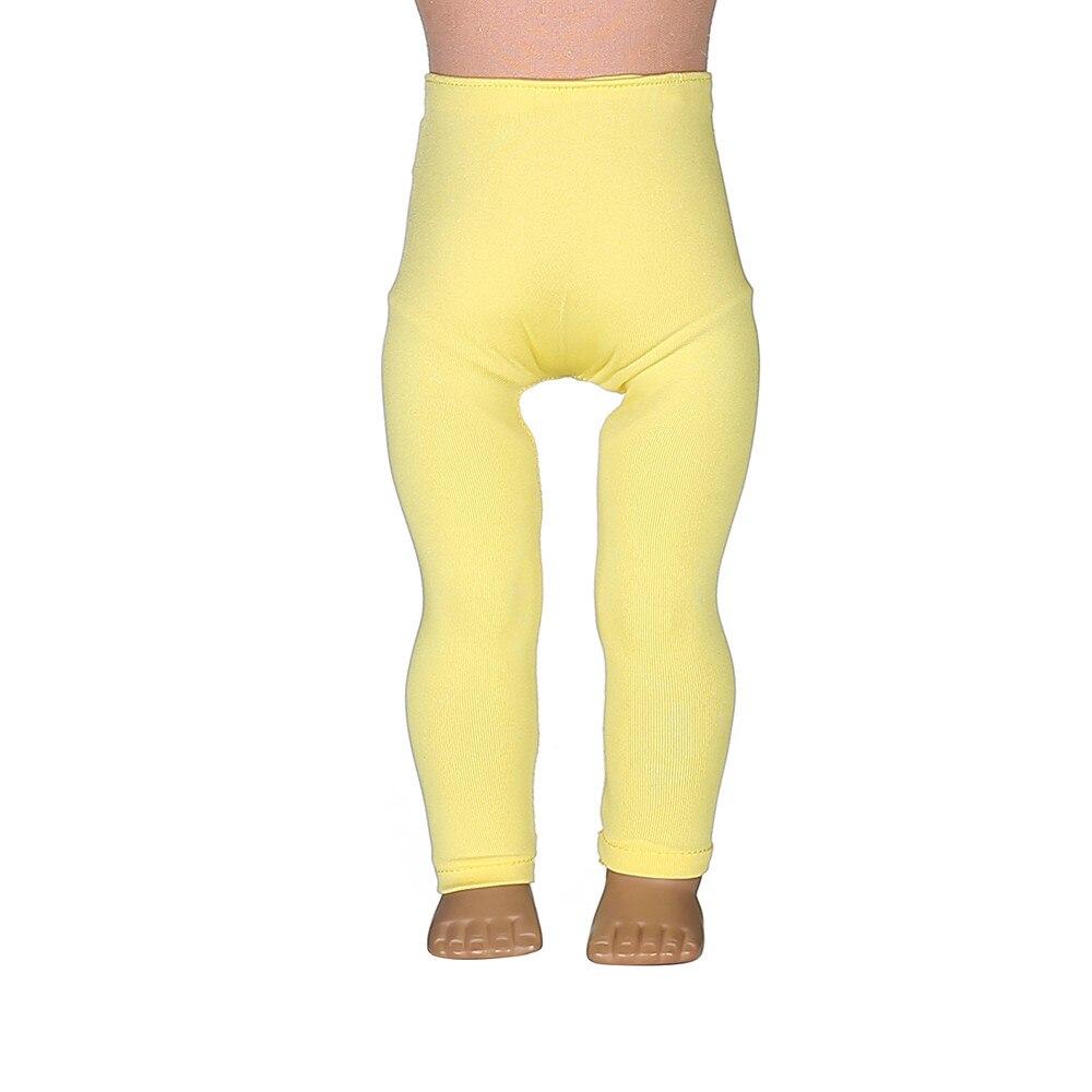 2 arten Gelb Leggings Enge Hosen Fit 18 Zoll American Girl Puppe ...