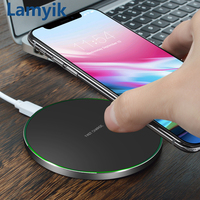 Qi Wireless Charger Charging Pad For IPhone X 8 Plus Samsung Galaxy S8 S7 S6 Edge