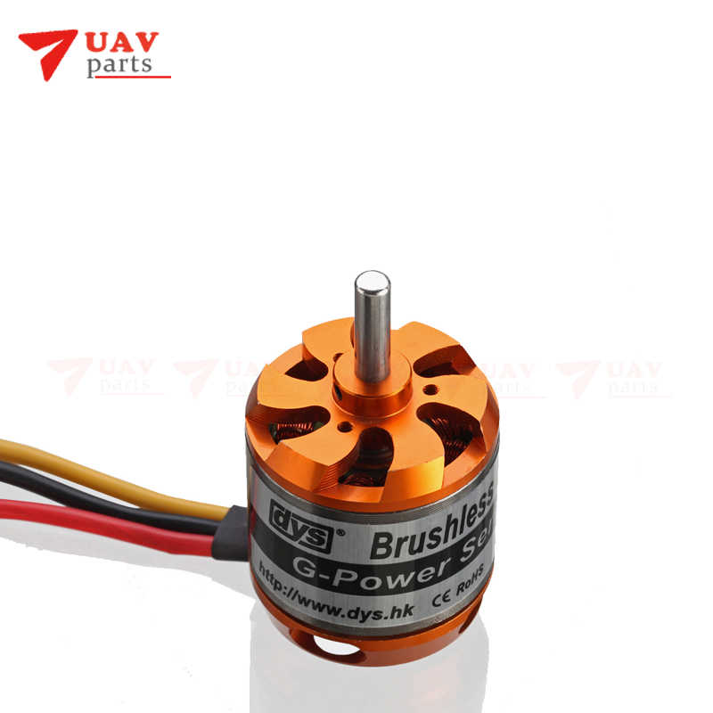 DYS D3542 1450KV Borstelloze Outrunner Motor Voor Mini Multicopters RC Vliegtuig