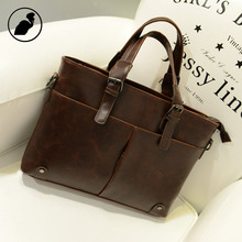 ETONWEAG New 2017 well-known manufacturers girls cow leather-based brown zipper massive capability luxurious enterprise type purses classic shoulder luggage