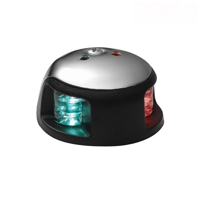 ФОТО 65.6ft (20m) Marine / Boat / Yacht 2-Nautical Mile LED Bi-color Navigation Lights / Red&Green LED Sidelights