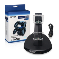 Per PS4 Controller Dual Shock Dual USB di Ricarica del Caricatore Docking Station per PS4 Sottile e per PS4 Controller Pro