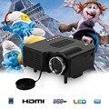 Excelvan UC28 Портативный СВЕТОДИОДНЫЙ Проектор Кинотеатр ПК и Ноутбука VGA/USB/SD/AV/HDMI Вход белый Мини-Карманный Проектор