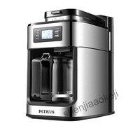 Полностью автоматическая кофемашина кафе американская кофемашина шлифовальная кофемашина свежезаваренная Кофеварка PE3200 1000 Вт 1 шт.