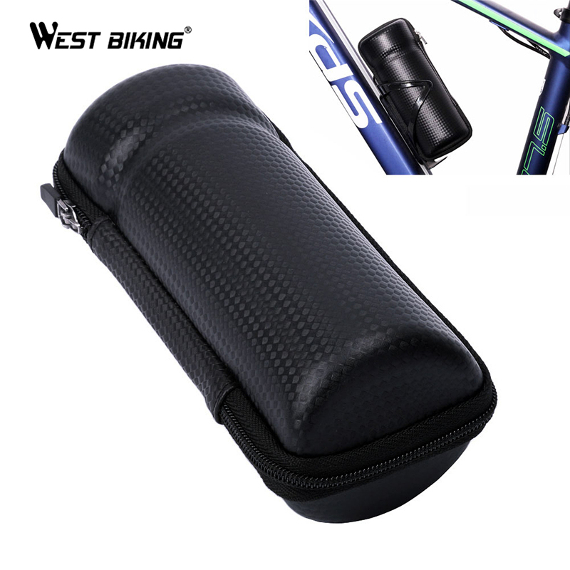 WEST BIKING Cycling Bag Road MTB Bike Apply Bottle Cage Glasses Key Repair Tool Kit Capsule Store Apply to Bicycle Bottle Holder