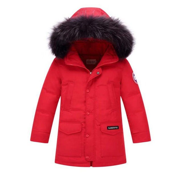 169bca30a163 Aliexpress.com   Buy 35 degree Russian winter Children white Duck ...