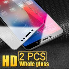 2pcs/Lot Screen Protector For Xiaomi Redmi K20 S2 6 5A 6A 5 Plus Note 6 4 4X Pro Tempered Glass Protective Explosion Proof Film(China)