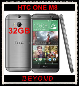 HTC One M8 Original 32GB GSM/WCDMA/LTE Nfc Adaptive Fast Charge Quad Core New Mobile-Phone