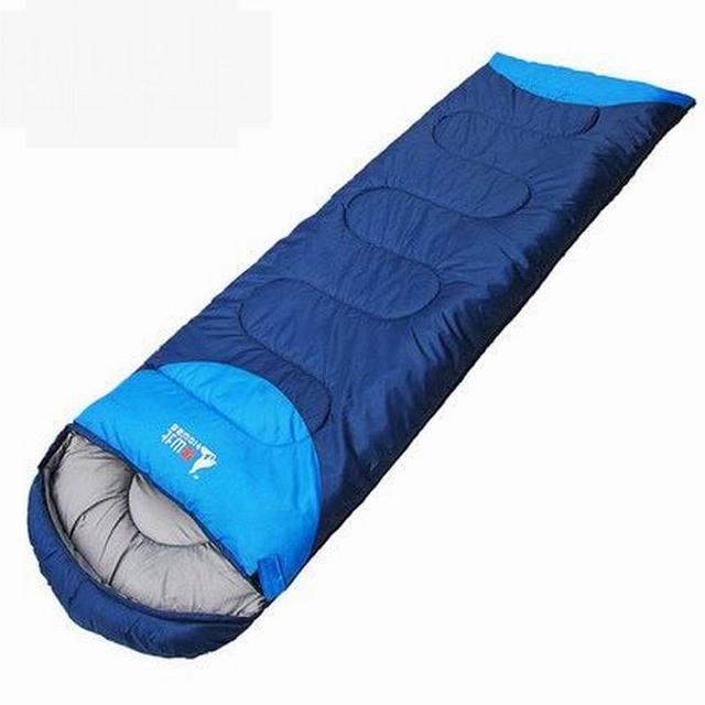 Temporada de invierno primavera verano otoño al aire libre saco de dormir adulto gruesa caliente camping interior