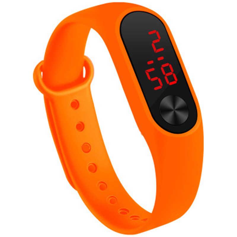 เด็กใหม่นาฬิกา Led กีฬานาฬิกาเด็กดิจิตอลนาฬิกาสร้อยข้อมือซิลิโคนนาฬิกาข้อมือสำหรับชายและหญิงเครื่องประดับของขวัญ