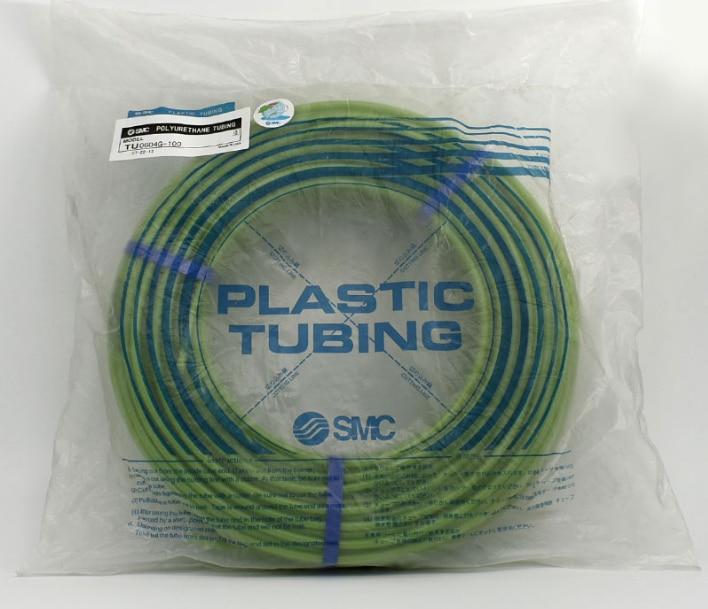TU0425G-100 TU0604G-100 TU0805G-100 TU1065G-100 TU1208G-100 SMC pneumatic green air hose TU series 100m 13x4 100
