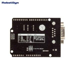 Image 2 - CÓ THỂ CAN BUS Lá Chắn. Tương thích đối với Arduino. MCP2515 (CÓ THỂ điều khiển) và MCP2551 (CÓ THỂ thu phát). GPS kết nối. MicroSD đầu đọc thẻ.