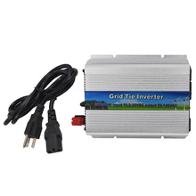 Details about  For Solar Panel Pure Sine Wave W/ Cord 10.5-30V 300W Mirco Grid Tie Inverter New
