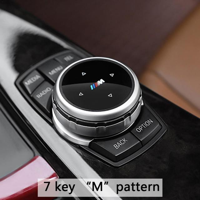 9072da8e05bc Multimedia Idrive Modification Button Cover Knob Cover For BMW X1   X3   X5    X6