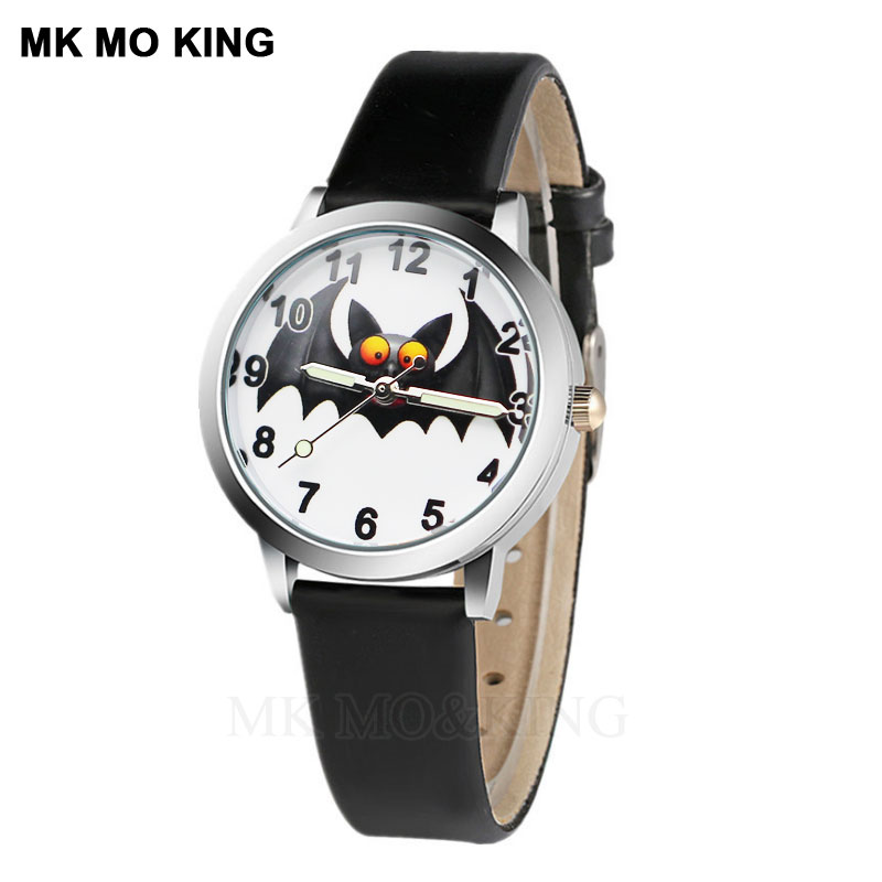 Hot Sale Children's Watch 3D Bat Animal Cartoon Luminous Boy Sports Clock Cute Girl Birthday Christmas Party Gift Relogio