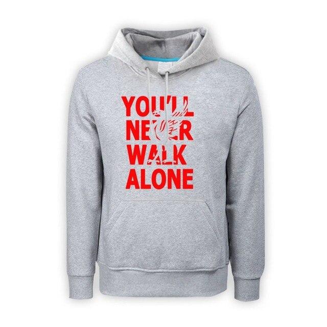 FC jackets sweatshirt Men Pullover Hoodie Sweatshirts Hoodies Boys Hoody you 'll never walk alone