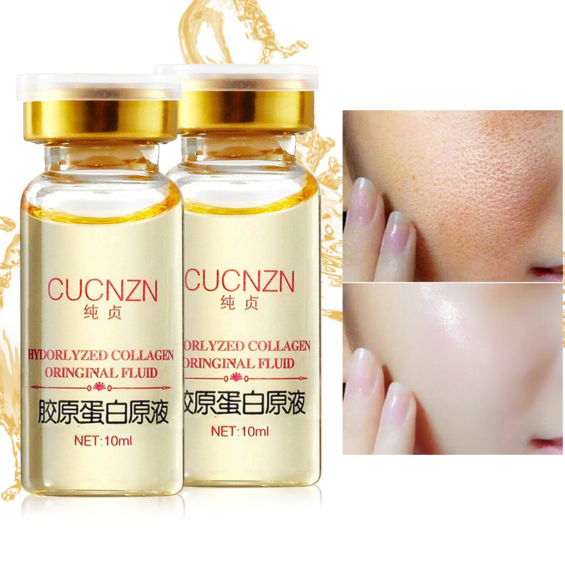 Beauty Anti-aging Zmarszczki Pure Collagen Essence Whitening Cream Nawilżające Ujędrniające Skóry Pielęgnacja Twarzy Natychmiast Ageless