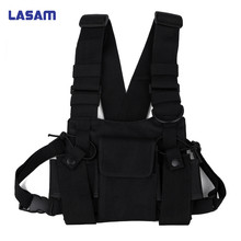 Get more info on the Universal Walkie Talkie Carry Case For Walkie Talkie Double chest  Pocket Black Backpack For Handy CB Radio
