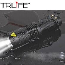 Lanternas Led CREE 10W XM L T6 Mini Flashlight Linternas 2300 Lumens Zoom In & Out Lights Searchlight Flash Lights