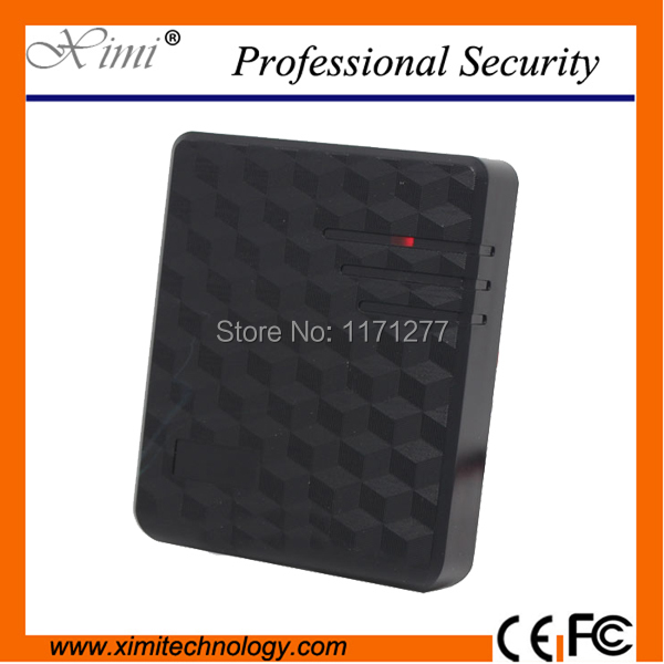 Hot sale N35 card reader weigand26 for door access control 125KHZ 10cm proximity rfid card reader outdoor mf 13 56mhz weigand 26 door access control rfid card reader with two led lights