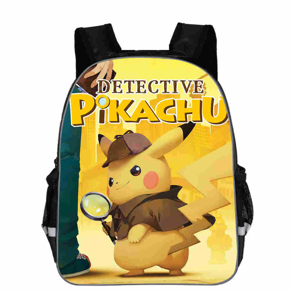 Competent 2019 Nieuwe Anime Pokemon Pikachu Rugzak Pichachu Cosplay Schooltas Kinderen Pluche Rugzak 16 Inch