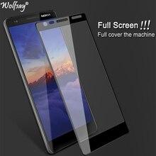 Wolfsay 1 шт для стекла Nokia 3,1 защитная пленка для экрана из закаленного стекла для Nokia 3,1 TA-1063 защитная пленка против царапин