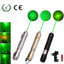 Green Laser sight High Power hunting Dot tactical 532 nm 10000m lasers 303 pointer verde lazer Pen Head Burning Match
