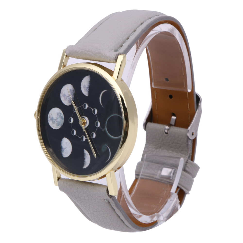 2019 New Brand Solar Watch Women Eclipse Phenomenon horloge Fashion - Dameshorloges - Foto 5