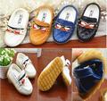 Mocasines bebé niño primeros caminante 2015 primavera kids infantil menina sneakerssapatilha beef tendón zapatos solo 015