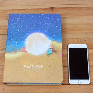 Image 5 - Miễn phí Vận Chuyển A5/B5 Các Hoàng Tử Nhỏ kim loại Loose lá máy tính xách tay máy tính xách tay trên nhẫn dày tông sinh cover nhật ký cuốn sách