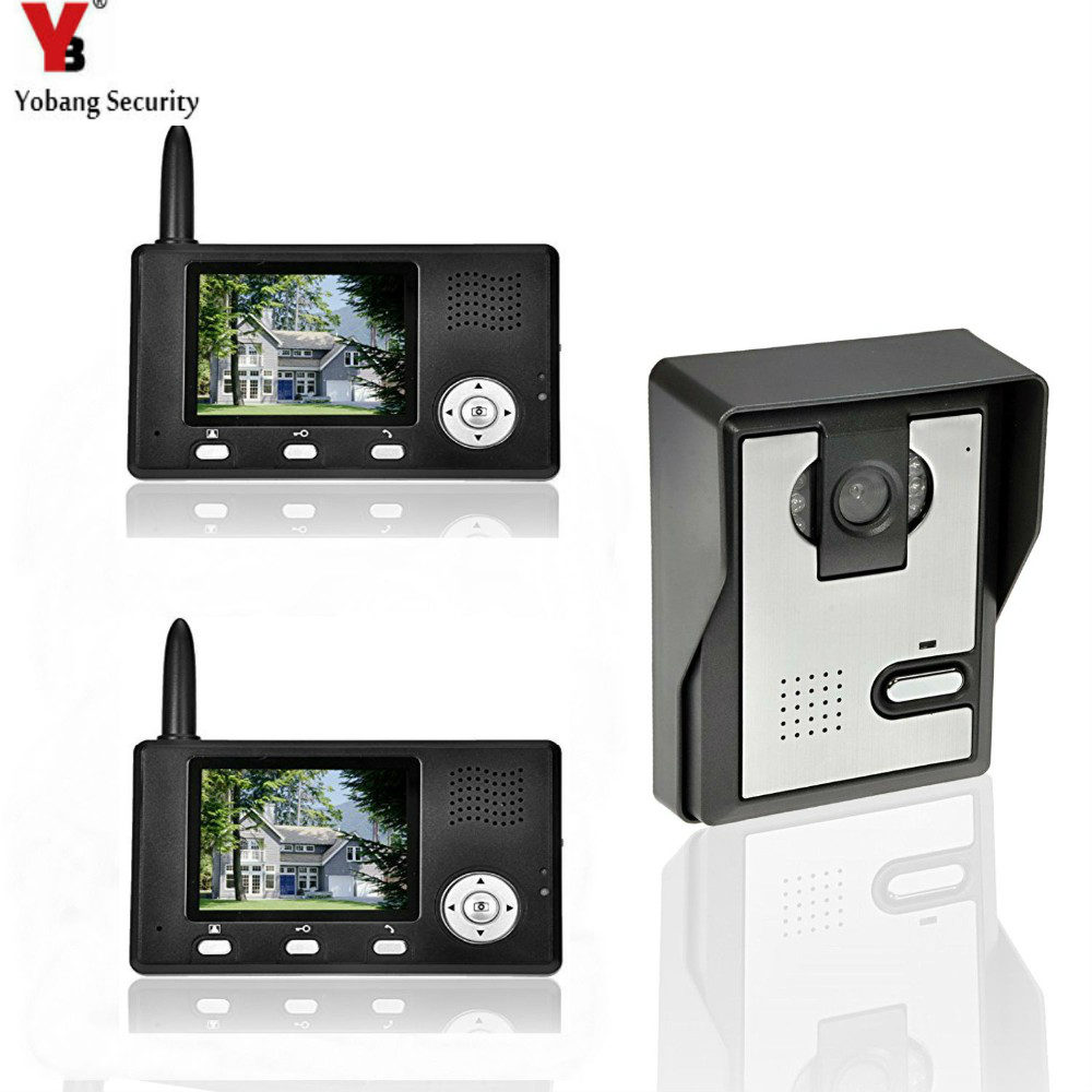 "YobangSecurity 2,4G 3,5 ""LCD Wireless Video-türsprechanlage ..."