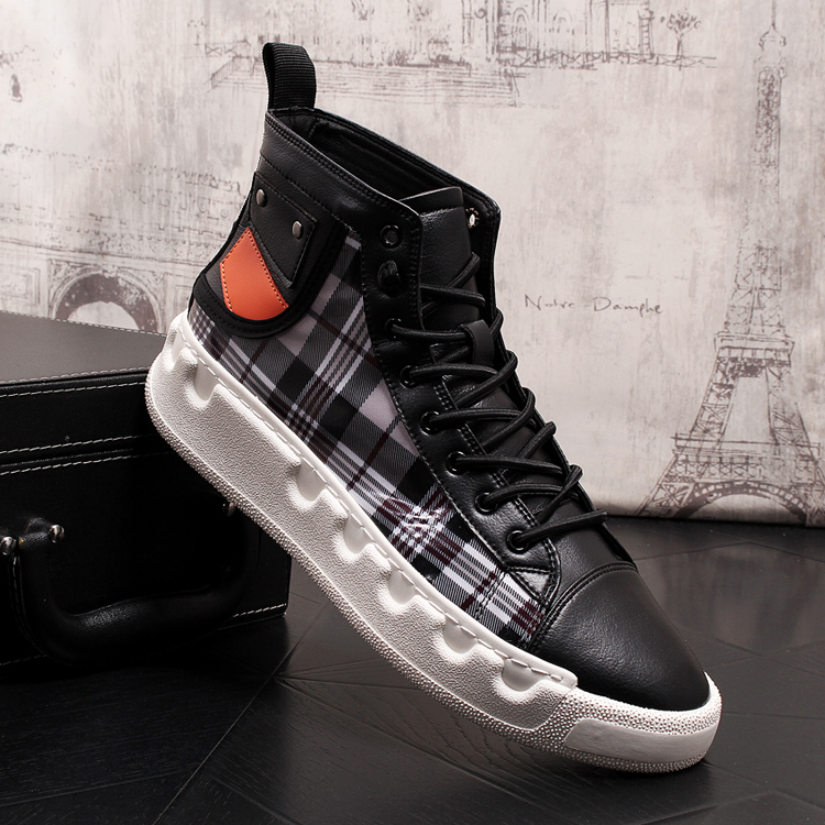 Stephoes Luxury Brand Men Casual Ankle Boots Spring Autumn High Top Men's Vulcanize Comfortable Sneakers Walking Leisure Shoes-in Men's Casual Shoes from Shoes on Aliexpress.com | Alibaba Group 61