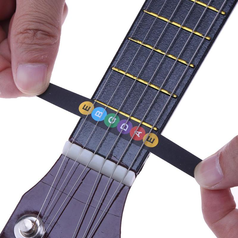 Musical Instruments Guitar Fretboard Notes Map Labels Fingerboard Sticker For 6 String Guitar Easy To Lubricate Stringed Instruments