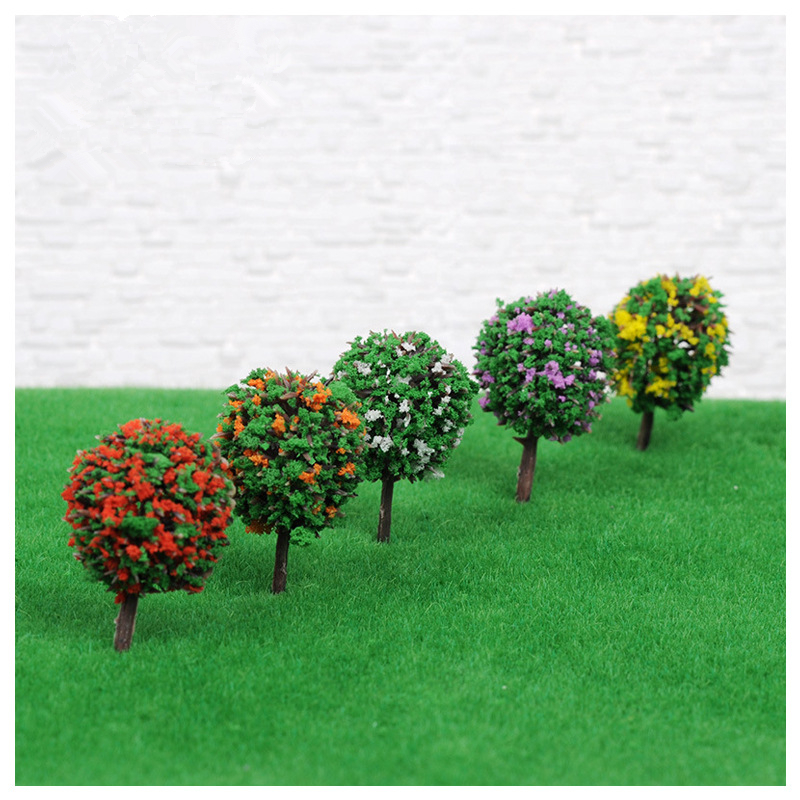 2020 Mini Garden Decorations Resin Tree Fairy Garden Terrarium