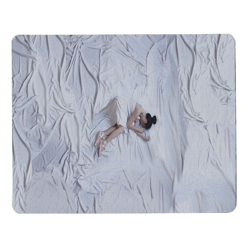 Babaite My Favorite Ballerina mouse pad gamer play mats Size for 18x22cm 25x29cm Rubber Mousemats