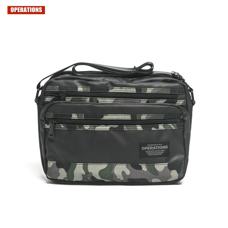 OPERATIONS Fashion Leisure Messenger Bag For Men High Quality Shoulder Bags Camouflage Color Casual Travel Bag School Bags free shipping fashion multi color computer riding wave leisure shoulder messenger bag