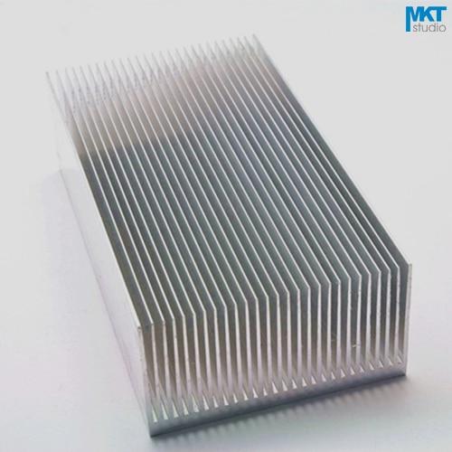 5Pcs 130x69x36W Pure Aluminum Cooling Fin Radiator Heat Sink