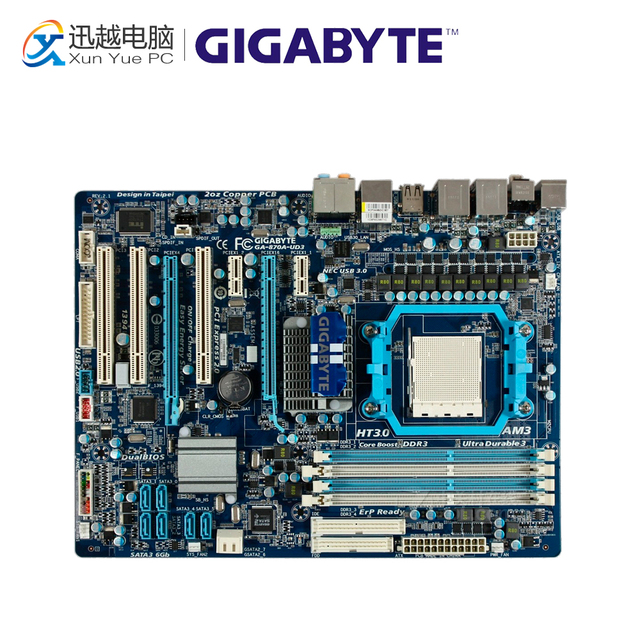 Download Driver: Gigabyte GA-870A-USB3L On/Off Charge