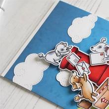 Eastshape Dies Auspicious Clouds Metal Cutting for Craft Scrapbooking Card Making Embossing Die Cut NEW
