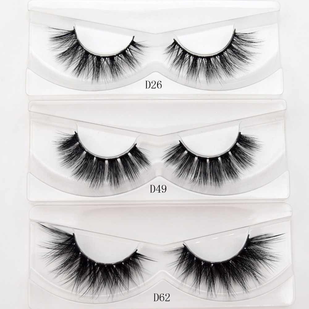 7fe93efcb13 visofree silk 3D lashes faux mink eyelashes full strip lashes handmade  crisscross thick false eyelashes cosmetic