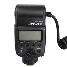 Viltrox jy-670c macro ring flash speedlite para canon e-ttl câmera slr