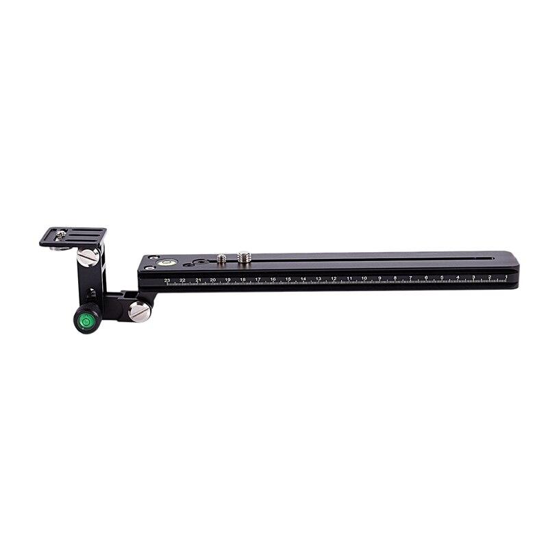 250Mm Long trépied fixation rapide plaque lentille support pour Long Nodal glissière Rail adaptateur pour Rrs arca-swiss Kirk Wimberl