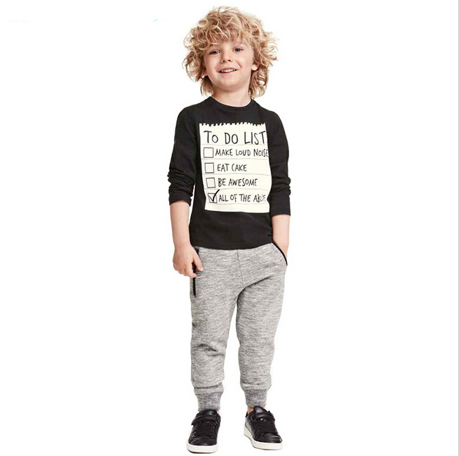 Children Boys Clothing Sets Kids Boys Casual Spring Fall ...