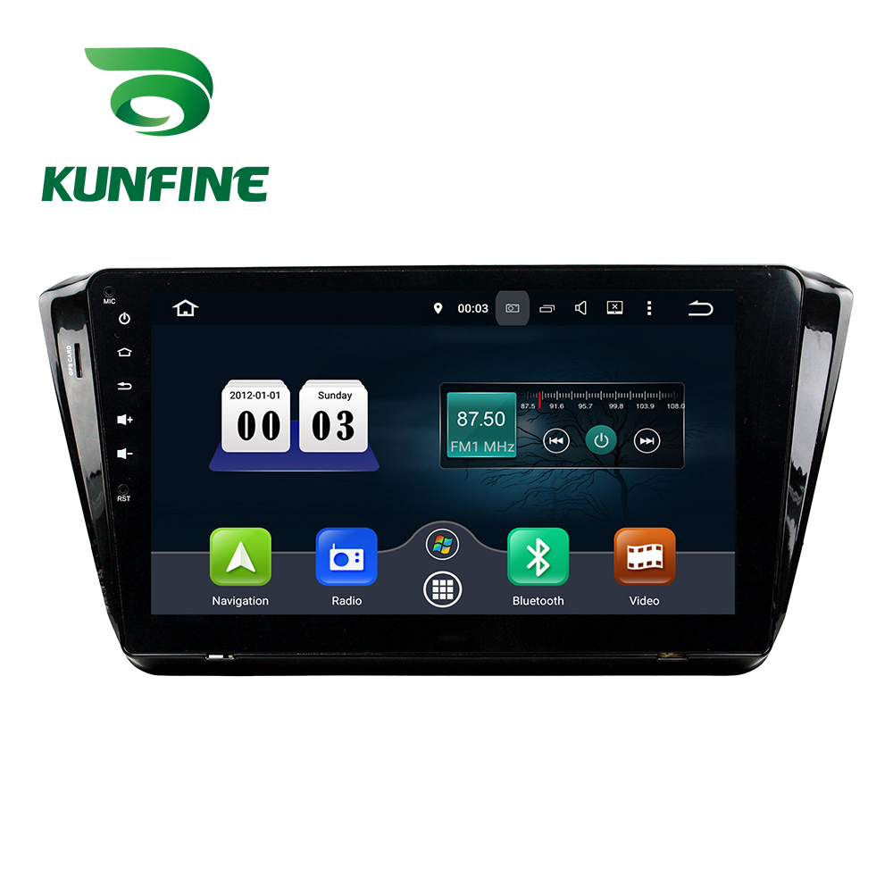 Octa Core 4GB RAM Android 8.0 Car DVD GPS Navigation Multimedia Player Car Stereo Deckless for SKODA Superb 2015 Radio WIFI