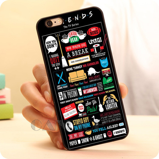 separation shoes 1822c 1e9f7 US $6.77 |FRIENDS FUNNY TV SHOW LOGO NOVELTY Hard Skin Mobile Phone Cases  Accessories For iPhone 6 6 plus 5c 5s 5 4 4s Case Cover Luxury on ...