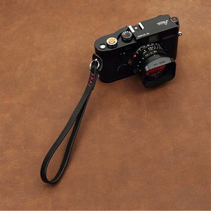 Image 4 - cam in WS010 3021 3026 Italy Cowskin Camera Wrist Strap Cowhide Leather DSLR spire lamella Hand Belt 4 colors