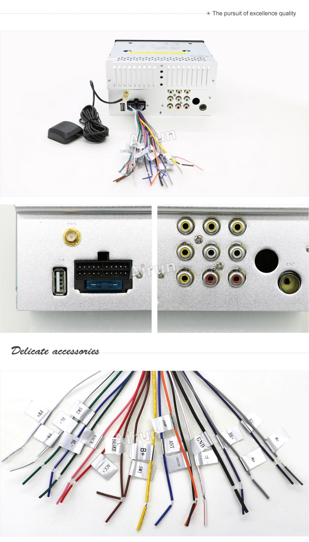 2 din ռադիո մեքենա DVD նվագարկիչ GPS - Ավտոմեքենաների էլեկտրոնիկա - Լուսանկար 6