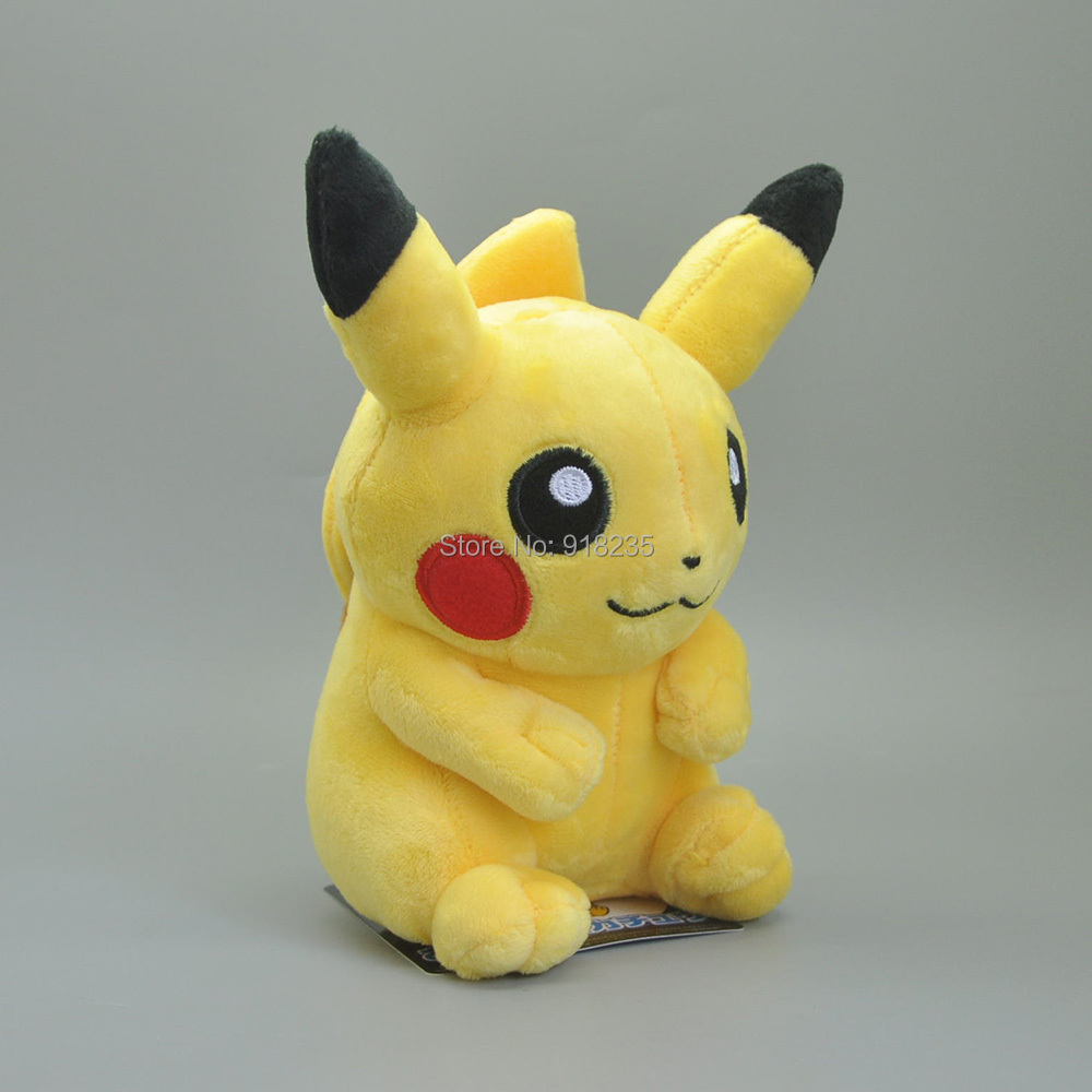10 Lot 18CM Yellow Pikchu Plush Doll For Animal Dolls Soft Gifts Stuffed Toys