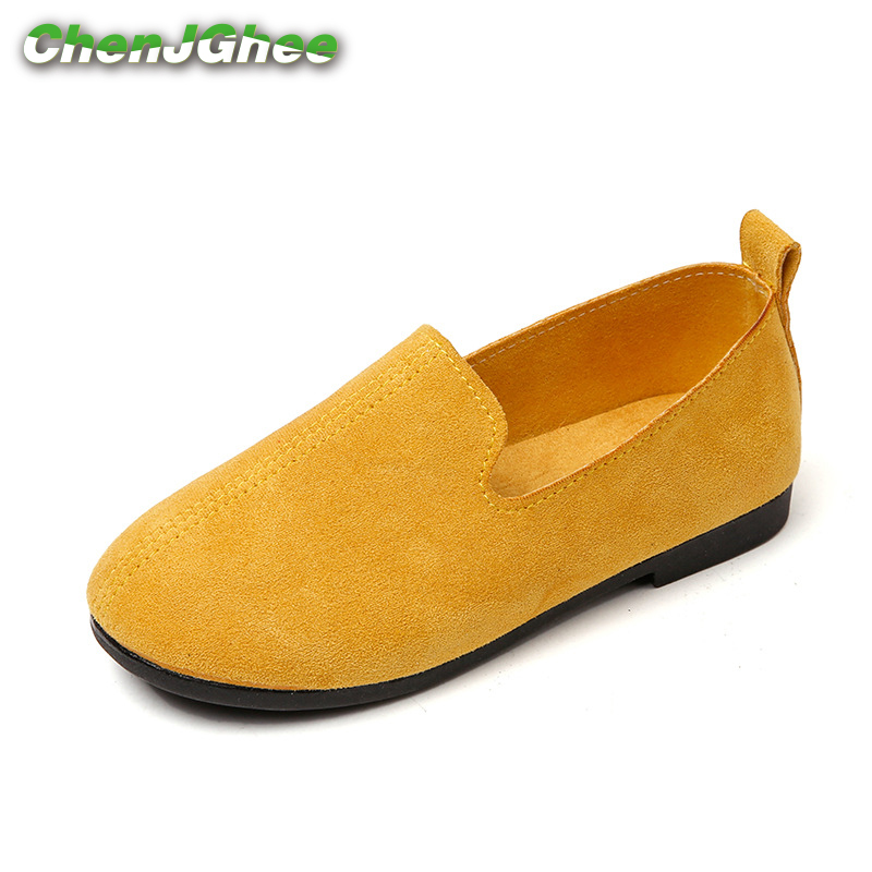 British Design Kids Shoes For Boys Girls Toddler Children 1-6 Yrs Soft Slip-on Casual Loafers Simple Boys Girls Flats Sneakers
