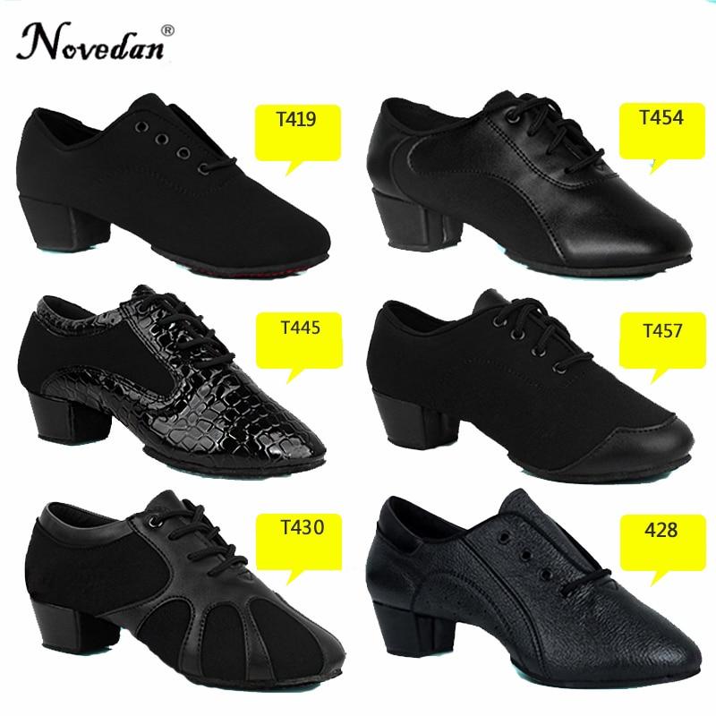 Professional Mens Latin Dance Shoes Kids Ballroom Dance Shoes Tango Salsa Dance Shoes For Boys Size 25-40